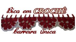getlinkyoutube.com-BARRADINHO EM CROCHÊ CARREIRA ÚNICA