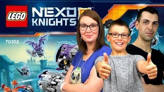 LEGO NEXO KNIGHTS - Tête d'assaut de Jestro construction - Family Geek