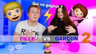 getlinkyoutube.com-Fille VS Garçon 2 / La Revanche ! (Qui va gagner?)
