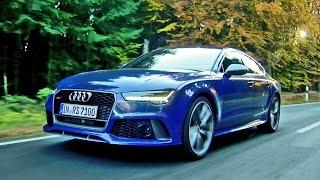 getlinkyoutube.com-► 2016 Audi RS7 Performance (605 hp) Design and Driving