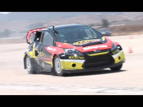 Tanner's Rockstar Ford Fiesta X Games Rally Car In Detail [h