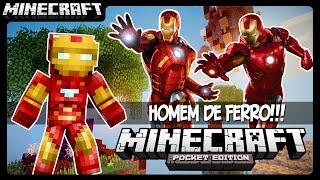 Mod do Homem de Ferro!!! - Minecraft Pocket Edition
