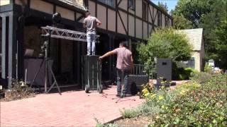 getlinkyoutube.com-instalando equipo de sonido al aire libre