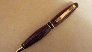 Cocobolo Cigar Pen ~ Pen Turning Tuesdays