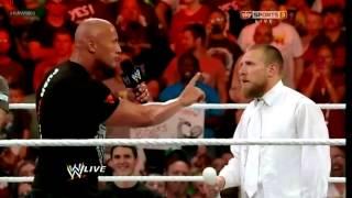 getlinkyoutube.com-WWE RAW 1000 The Rock Returns