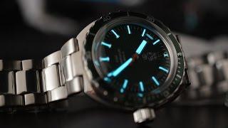 getlinkyoutube.com-Обзор часов Восток Амфибия Нептун 960726 второго поколения.