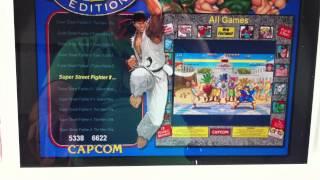 getlinkyoutube.com-Street Fighter 2 Themed Bartop MAME arcade cabinet