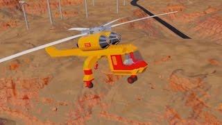 Lego Helicopter Crashes | Brick Rigs