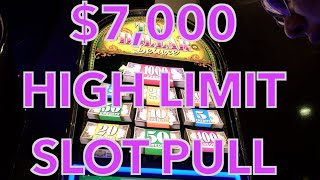 getlinkyoutube.com-✦✶HUGE $7,000 HIGH LIMIT Slot Play ✶✦ FULL 40 Minute Video! - HAND PAYS at Cosmo in Vegas