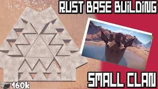 getlinkyoutube.com-Rust Base Building | Hard to Raid Small Group Fort! (Vanilla)