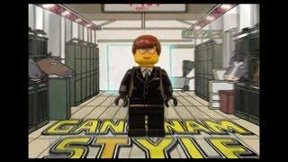 getlinkyoutube.com-LEGO GANGNAM STYLE! (PSY-Gangnam Style Parody) 강남스타일 By Justin Hyon
