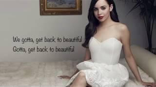 Sofia Carson - Back To Beautiful Lyrics