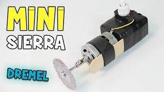 getlinkyoutube.com-Cómo hacer una Mini Sierra Casera ó Mini Dremel Casera