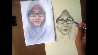 getlinkyoutube.com-Cara Menggambar Wajah Dengan Pensil Step By Step