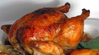 getlinkyoutube.com-طريقة عمل دجاج مشوي ذهبي ولذيذ