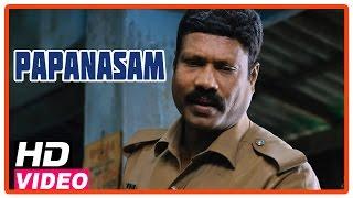 getlinkyoutube.com-Papanasam Tamil Movie | Scenes | Kalabhavan Mani doubted Kamal Haasan | Asha Sarath