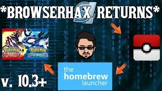 getlinkyoutube.com-[10.3-10.5] BROWSERHAX IS BACK   How to reach the 3DS Homebrew Channel