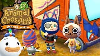getlinkyoutube.com-Animal Crossing New Leaf - Welcome amiibo - Monster Hunter Stories Felyne - 3DS Gameplay Walkthrough