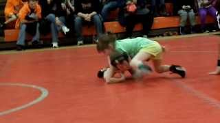getlinkyoutube.com-Daughter makes a boy cry in wrestling!