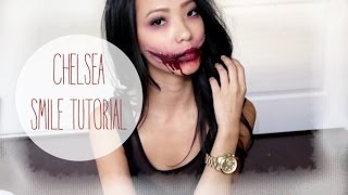 getlinkyoutube.com-Chelsea Smile Halloween Tutorial