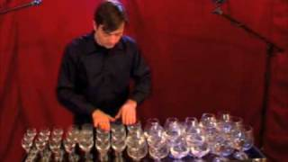getlinkyoutube.com-wine glass music-glass harp Hungarian dance No. 5-Brahms