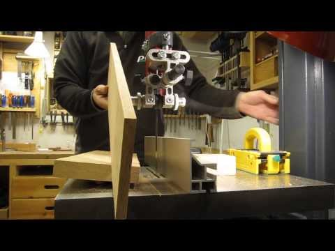 Resawing demonstration on the N3800 Youtube Thumbnail