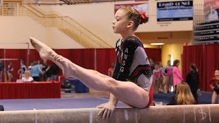getlinkyoutube.com-Whitney - Level 7 Gymnastics State Champion! (38.225)