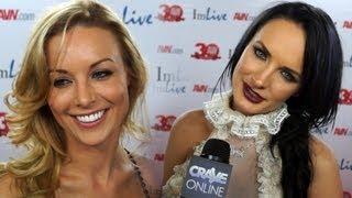 getlinkyoutube.com-AVN Awards 2013 - Porn Star Red Carpet Interviews (NSFW)