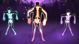 getlinkyoutube.com-The Skeleton Dance | Just Dance Kids Game | Halloween Song: Day O | Baby Hazel Rabbit