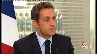 getlinkyoutube.com-Interview du président de la République Monsieur Nicolas Sarkozy