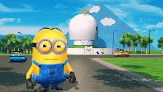 getlinkyoutube.com-Despicable Me 2: Minion Rush Vector's Fortress Part 5