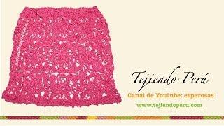 getlinkyoutube.com-Falda con cuadrados o granny squares tejidos a crochet