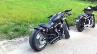 getlinkyoutube.com-Harley Davidson Sportster Bobber