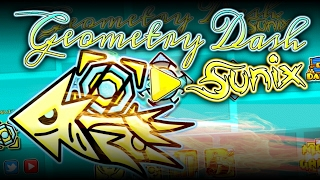 Sunix Texture Pack | Geometry Dash 2.1 | Android & Steam | By: Rodríguez GD, ItsGrayMonGD & Soluble