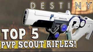 getlinkyoutube.com-Destiny | Top 5 PvP Scout Rifles! (The Taken King)