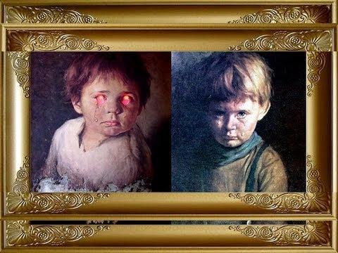Quadros Do Mal,Cuidado..Crianças Que Choram.