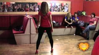 getlinkyoutube.com-Tanja La Alemana , Sexy Bachata  Styling Workshop REAR VIEW