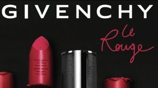 getlinkyoutube.com-Givenchy Le Rouge Intense Color Sensuously Matte Lipstick