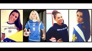 getlinkyoutube.com-patriotic Bosnian girls ⚜ (Bosanke) Бошɴѣɖчн 💪☝✌👊💪Bosniaks💖