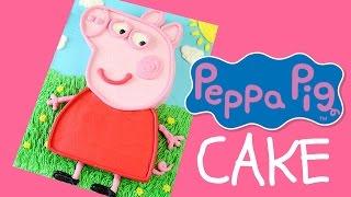 Make a PEPPA PIG Cake - CAKE STYLE