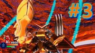 getlinkyoutube.com-Digimon All Star Rumble | Let's Play en DIRECTO | # 3 | Modo historia Shoutmon BOSS Shoutmon DX