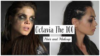 getlinkyoutube.com-The 100 Inspired Octavia Hair and Makeup 2