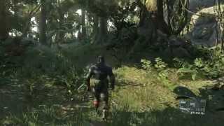 getlinkyoutube.com-MGSV:Snake Eater tiger stripe& sneaking suit outfits showcase(DLC)