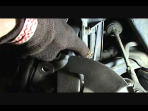 Mazda Protege front wheel bearing replacement part 2
