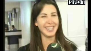 getlinkyoutube.com-Nancy Ajram - Return From Egypt July 07 (Rotana)