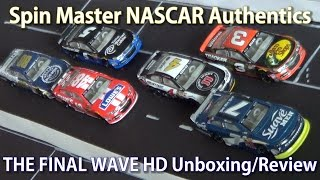getlinkyoutube.com-2015 Spin Master NASCAR Authentics: Wave 5 THE FINAL WAVE HD Unboxing/Review #SpinMasterSendoff