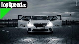 getlinkyoutube.com-TopSpeed.sk test: Škoda Octavia III RS TDI DSG