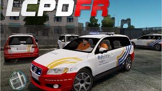 getlinkyoutube.com-GTA IV : LCPDFR 1.0 - Belgian Police Patrol (Politie)