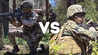 getlinkyoutube.com-British Army Royal Gurkha Rifles vs U.S. Marines - Mock Battle between U.S Marines and Allies