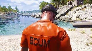 SCUM New Gameplay Demo (Open World Prison Game) 2018